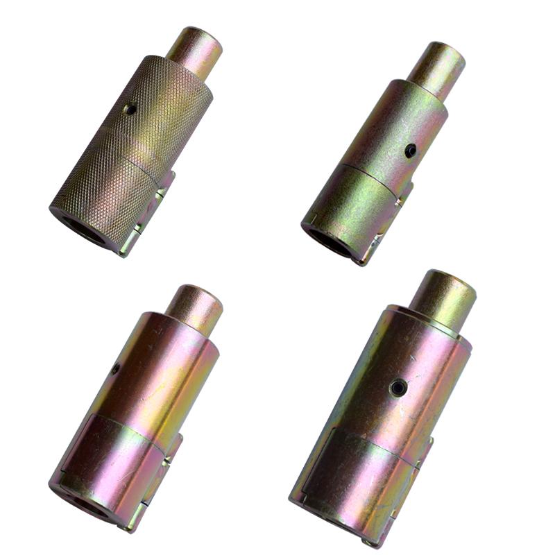 4 6 puntos de mango de acero inoxidable sin filtro y hacer morir a un tubo de gas el tubo de onda de herramientas