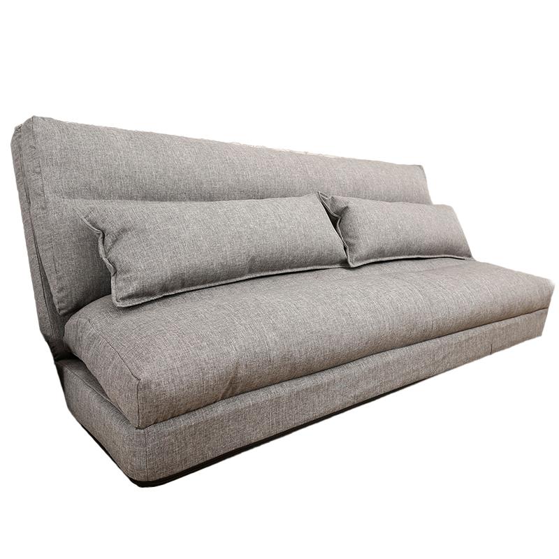 創意怠け者ソファ折りたたみ洗い張り畳シングル2人掛けソファチェア寝室が布製ソファベッド