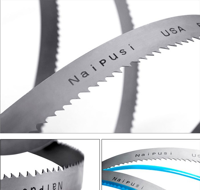 The United States Naipusi double metal band saw blade band sawing machine saw blade machine with 362039004115 blade