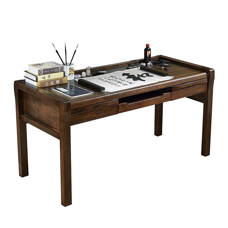 El escritorio el escritorio casa de madera el escritorio de la computadora de escritorio moderno minimalista, Jefe de 1,5 metros de escritorio