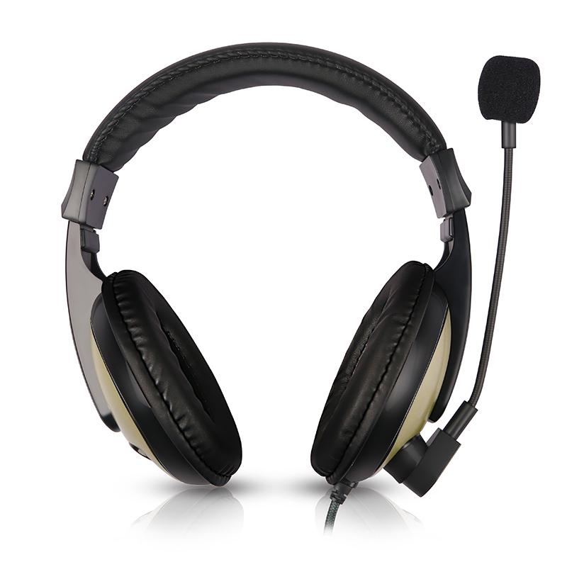 英语听力耳机ipad听说专用中考口语人机对话头戴式录音耳麦带话筒