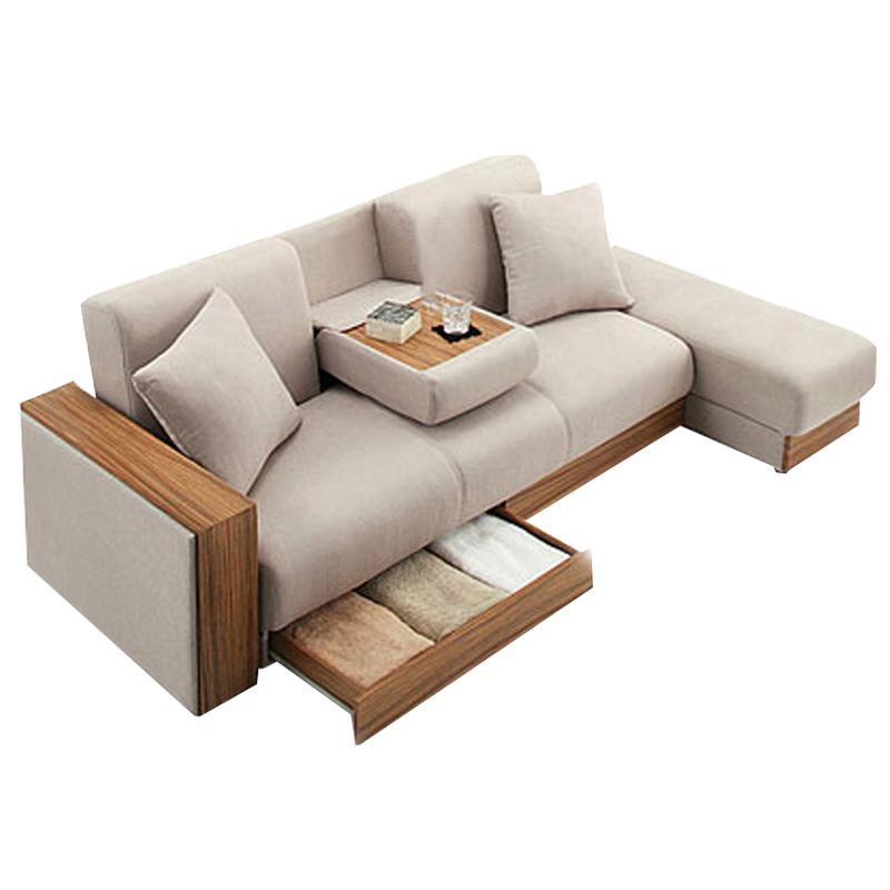 De Bank kan met de woonkamer van kleine eenheden van multifunctionele één eenvoudige Bank opslag een stoel