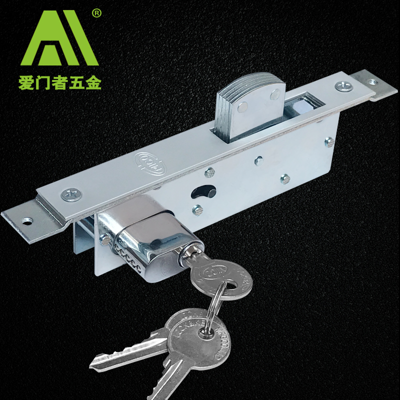 Frame glass door lock, aluminum alloy door lock, Kentucky open door lock, revolving door latch lock