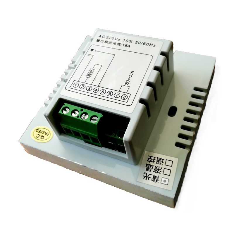 Touch - Screen termostato per il riscaldamento dell'Acqua del terreno a Cristalli Liquidi a temperatura controllata interruttori passivi controllore per impiccagione.