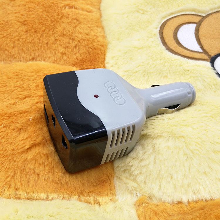 Die post - wechselrichter MIT Kleinen macht Sich 220V - steckdose MIT USB/ KFZ auto ladegerät