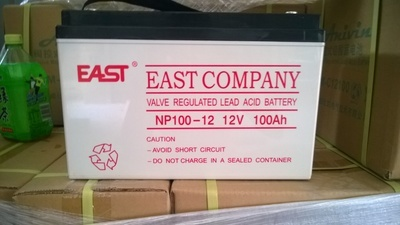 EAST EAST battery NP100-12UPS special 12V100AH new genuine original battery