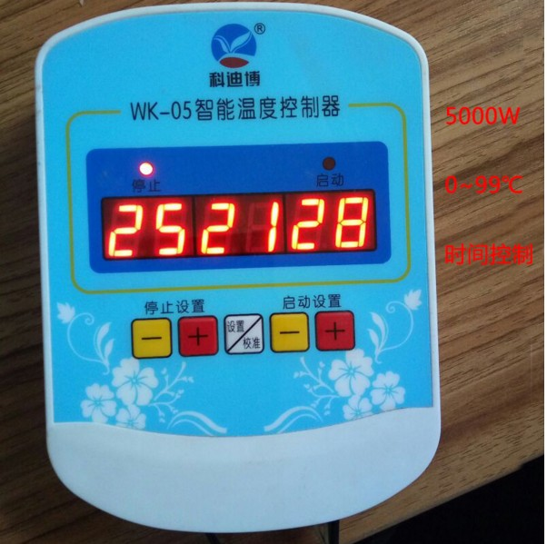 Digital display automatic intelligent temperature controller, computer intelligent temperature controller, incubator temperature controller for greenhouse incubation
