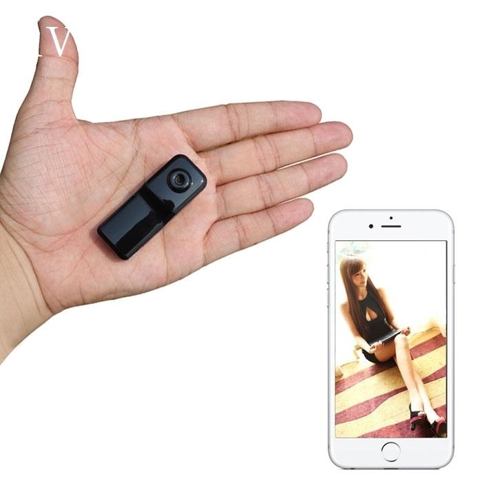 مصغرة كاميرا شبكة الأشعة تحت الحمراء للرؤية الليلية لاسلكية واي فاي الهاتف بدون مصباح عالية الوضوح سوبر ميني رئيس الرصد عن بعد