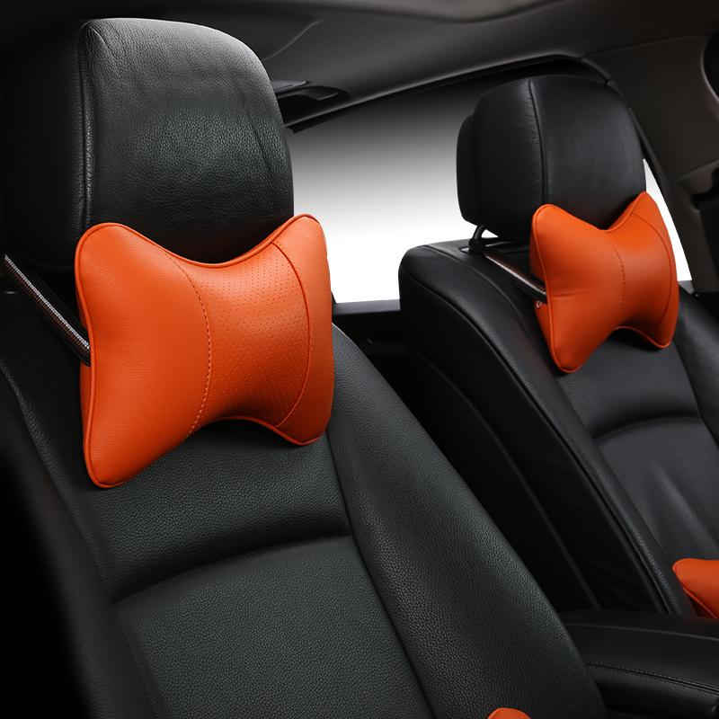 自動車安全護頚枕枕に四季腰枕護腰垫車用の背もたれ腰靠垫クッションカバー
