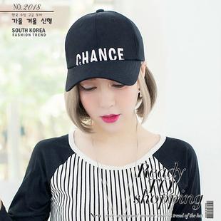 春夏新款帽子女潮韩国进口时尚休闲鸭舌帽男士夏季韩版青年棒球帽