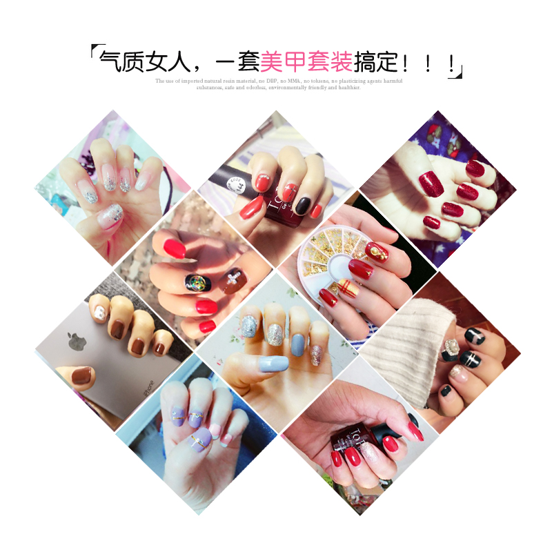 La Suite di UTENSILI per Manicure tutta una serie di Mini - ha portato La macchina per aprire un negozio di lampade di smalto per unghie fototerapia Fare Manicure rivestiti di Gomma