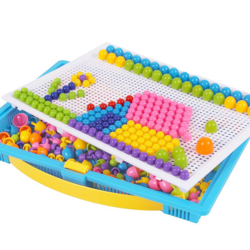 幼儿园儿童巧巧钉积木拼图3-7岁积木