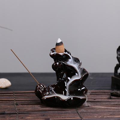 сандаловое печи проточной воды странные новые декоративные украшения вспять кадило семьи керамические кадильницу Ароматерапия печь