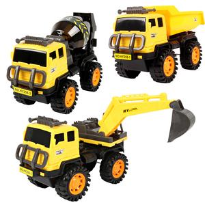 儿童工程车玩具套装挖掘机大号合金仿真耐摔男孩惯性模型玩具车