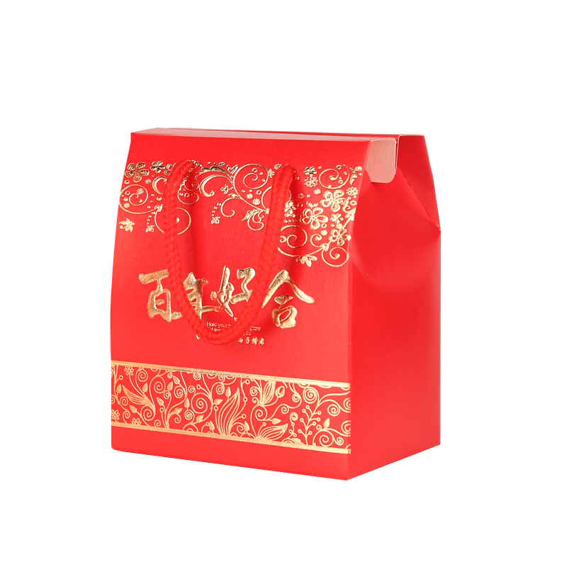 Marriage celebration activities creative gift candy candy boxes Chinese wind return handbags bags wholesale candy box