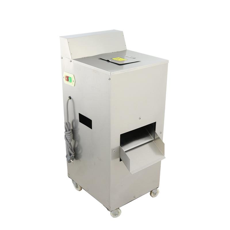 многофункциональный овощерезка бытовых, коммерческих одного из нержавеющей стали вырезать вырезать приготовленную пищу свинины резки электрический машина для нарезки автоматический
