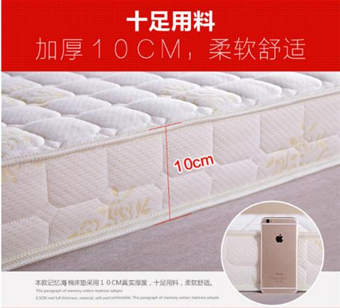 Ispessimento ad alta densità di spugna del dormitorio del College di singola Piccola materasso è 90cm190 a Castello 0.9m80 cm