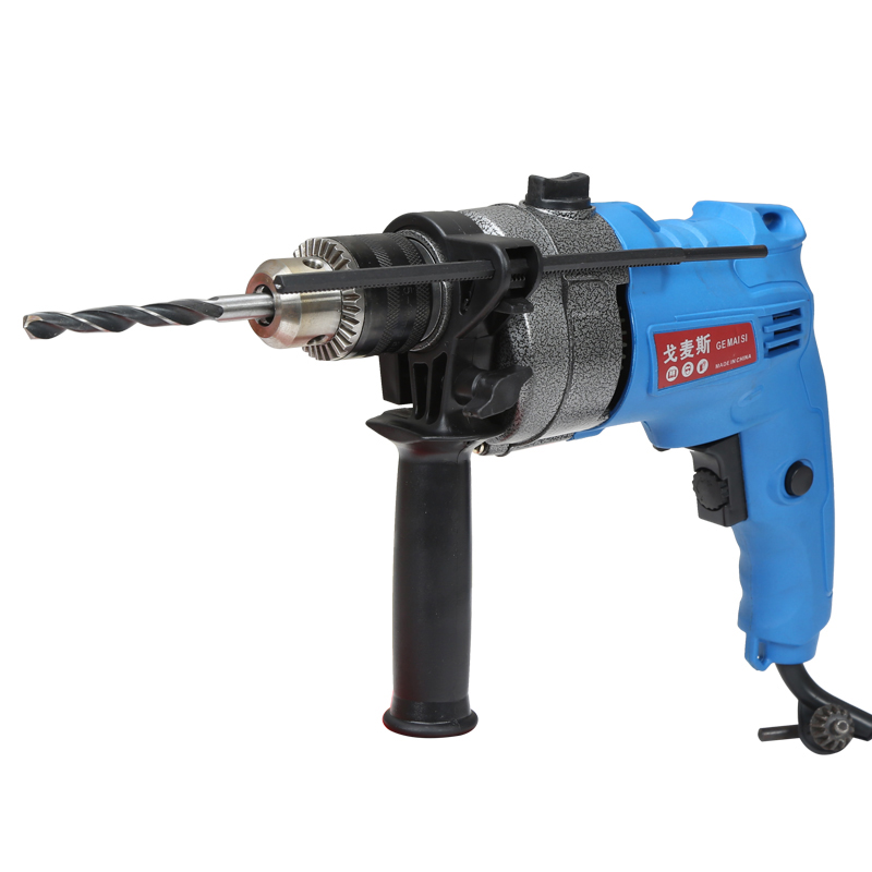 Electric impact drill hammer drill multifunctional double function hand grab drill electric screwdriver tool set decoration