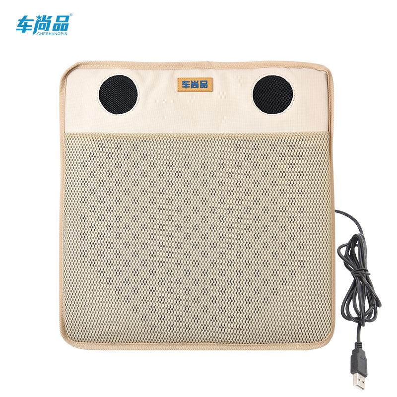 La chiavetta USB di veicolo a cuscino d'Aria condizionata cuscino Fan Fan di condizionamento dell'Aria di ventilazione brezza.