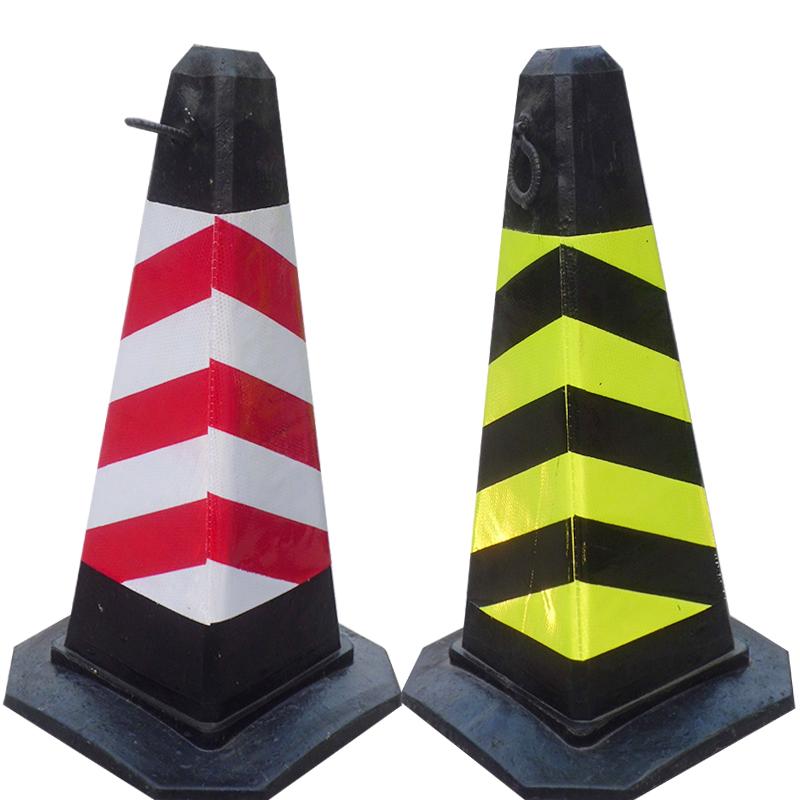Shipping rubber road cone cone rubber road cones under cone roadblocks