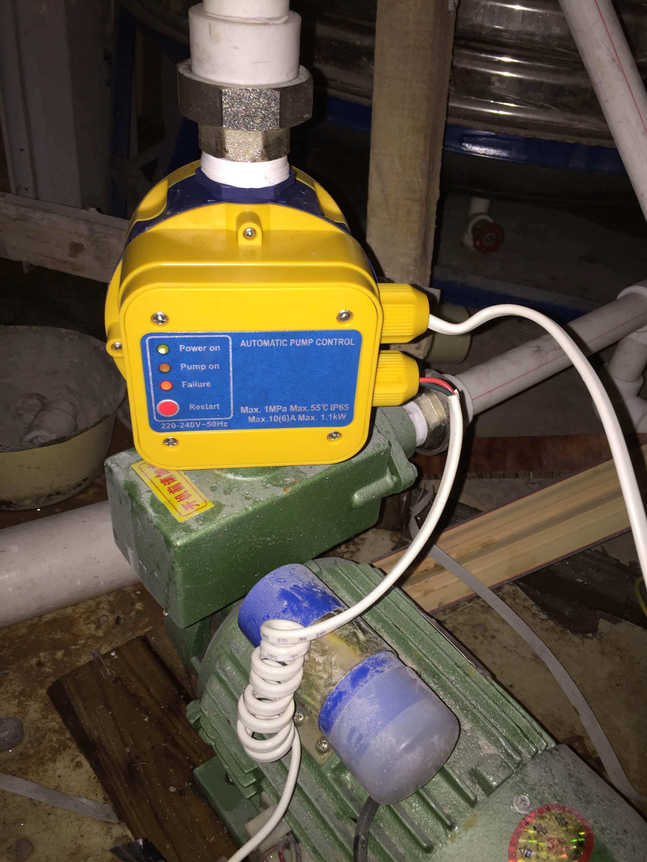 El flujo de presión la presión de sobrealimentación especial interruptor electrónico controlador de control automático de la bomba de agua caliente