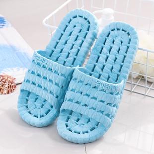 拖鞋女夏天家用室内浴室拖鞋防滑洗澡软厚底居家男夏季家居凉拖鞋