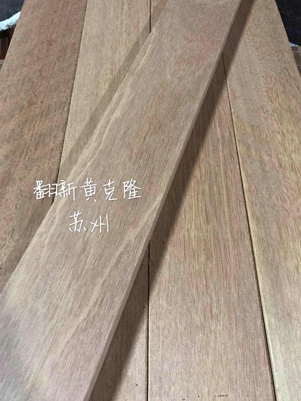 Topaz Tan jaune de clonage de remise à neuf d'occasion pur de plancher en bois massif de grumes de couleur antique de la protection de l'environnement dans la décoration d'intérieur de la plaque d'outillage