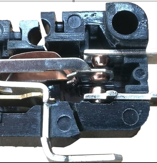 I contatti di fornello elettrico Forno a microonde microswitch microswitch bis 7 - 0 Grandi correnti di bachelite contatto ad alta temperatura