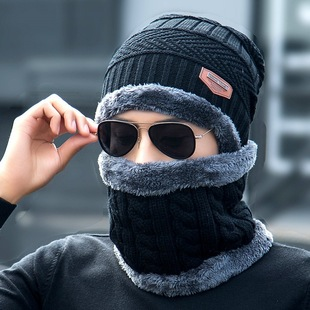 冬季骑车男防风帽电动车骑行挡风头套面罩冬天加绒保暖防寒帽子女
