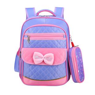 儿童书包小学生女生1-3-6年级幼儿园女孩6-12周岁可爱女童包包5岁
