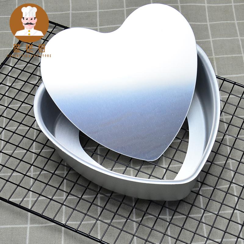做烘焙工具活底阳极戚风蛋糕模具6寸8寸10寸12寸圆形易脱模芝士模