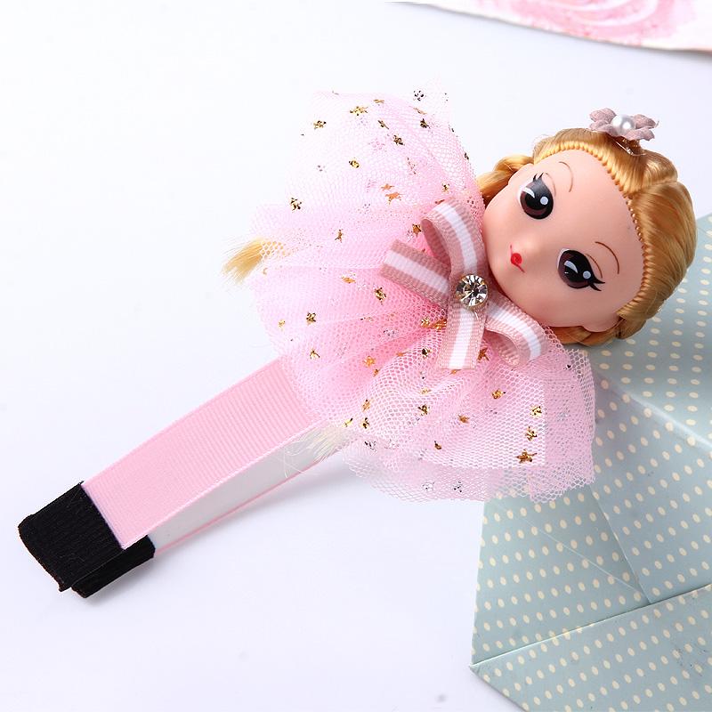 児童のカチューシャ韓国プリンセスヘアピン小学生人形の頭箍女の子かわいい赤ちゃん頭のアクセサリを持って歯のスリップ