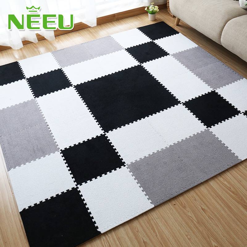 Shipping tomentellate bedroom carpet mosaic foam mat covered with tatami floor living room children puzzle mats