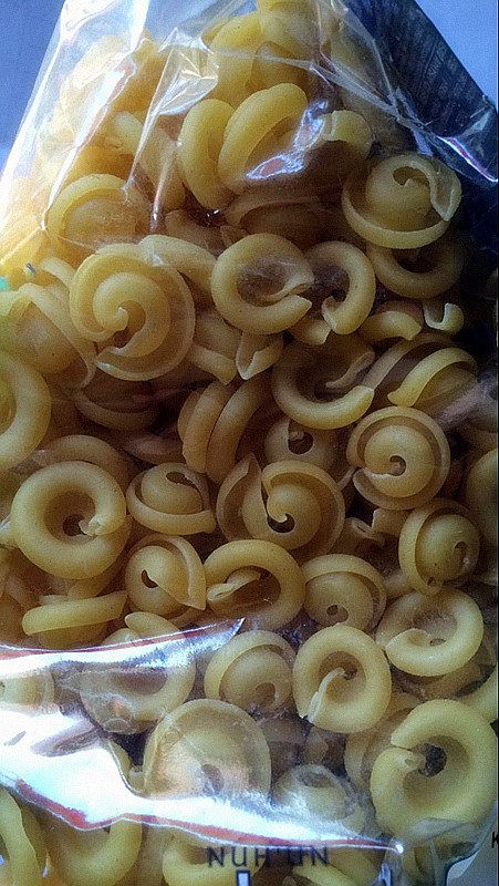 La importación de alimentos de la marca italiana de Ankara de fideos macarrones (vitamina 2 bolsas de correo)