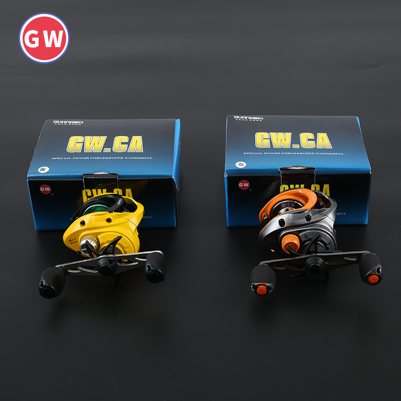 Koi water wheel full metal cup fishing line left and right hand ultra light shot magnetic brake gear Yalun Road