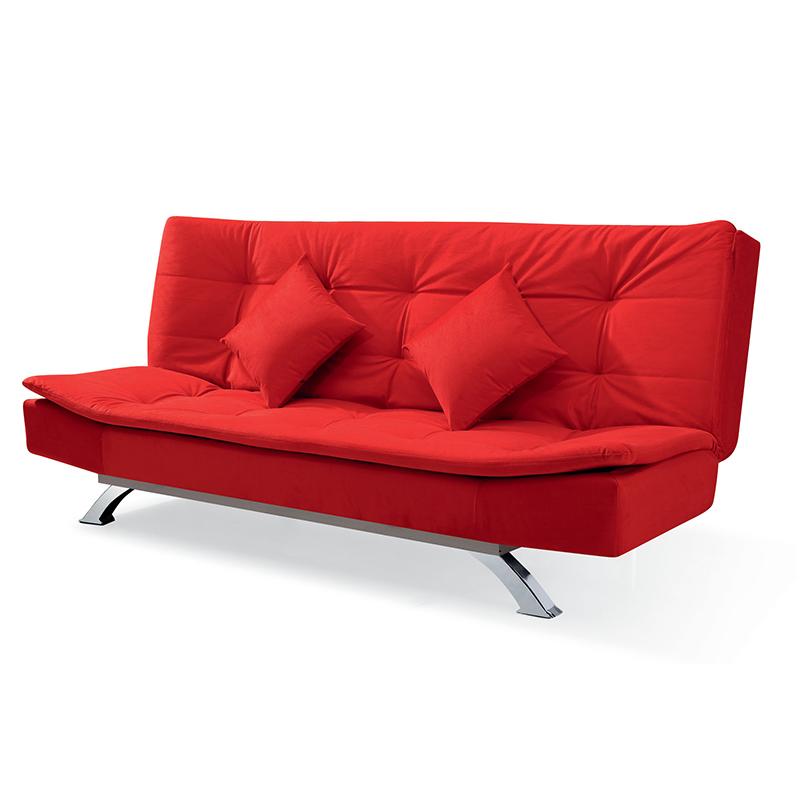 ソファーベッド折りたたみリビングペア簡易小型は1 . 2メートル両用布製洗い張り折りたたみソファベッド