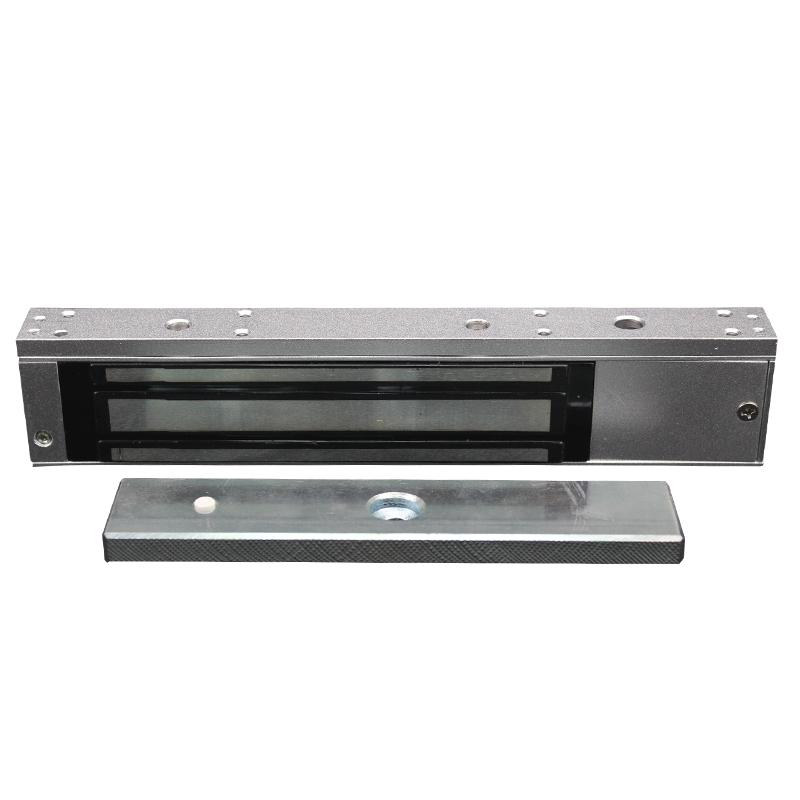 La fuerza electromagnética la cerradura electrónica con tarjeta de acceso al sistema de oficina de la contraseña de un traje de una pieza de hierro de la puerta de vidrio de dos puertas