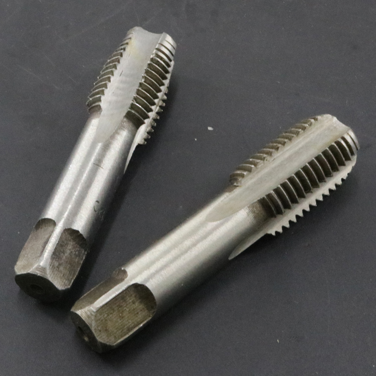 Hand thread tap, hand manual tube wire tapping, high speed steel alloy manual tap, one pair of two