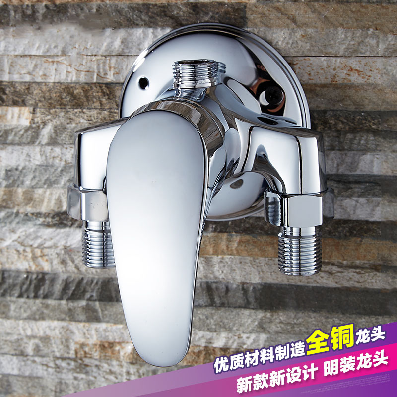 Special offer shipping copper with the shower faucet pipe faucet shower water heater mixing valve switch