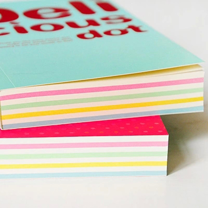 Special offer Delicious page 150 notebook Notepad thickened candy color Suiji this diary