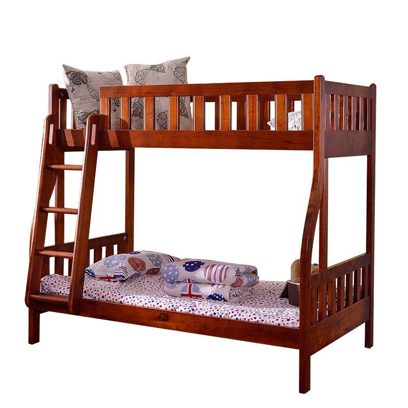 Macao seuma toon solid wood bed adult level bed bunk bed bed mother original 1.21.5 meters