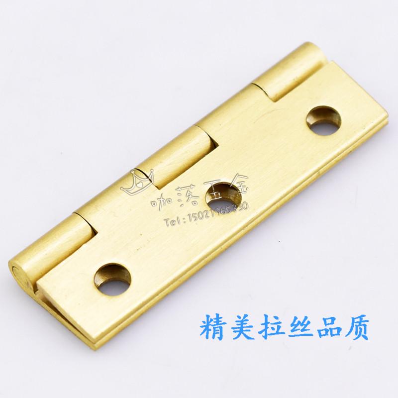 にして1.5mm寸精銅木箱アンティーク家具を置き戸棚ドア蝶番ヒンジヒンジソリッド全銅部品