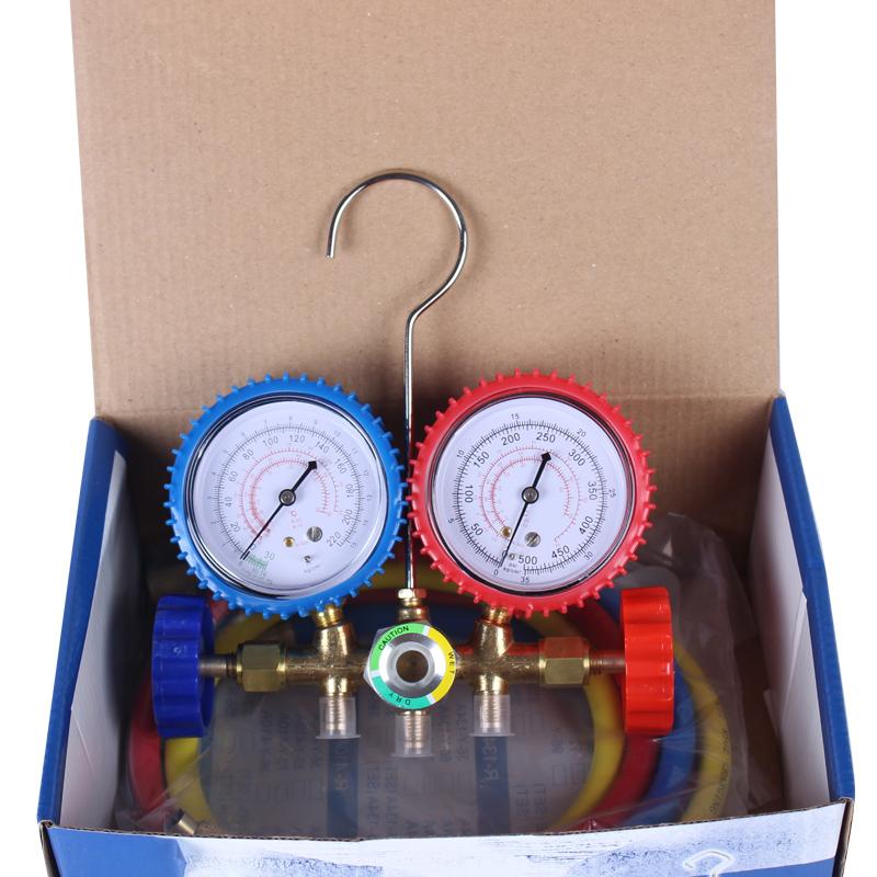 Automobile / household air conditioner, fluorine meter, snow seed pressure meter, refrigerant double table valve R1222R134AR410 valve body
