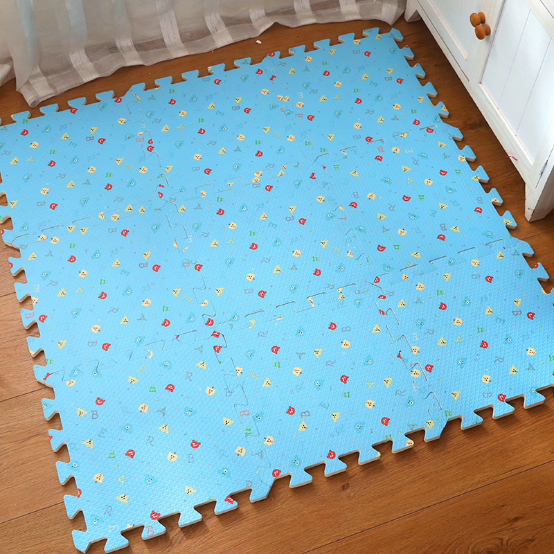 Foam mat bedroom floor mat puzzle tatami thickened stitching of infant climbing crawling pad 30x30