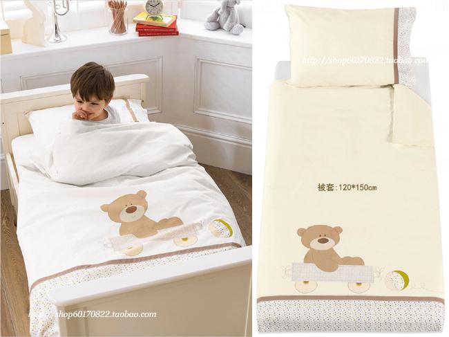 αγαπάς την αρκούδα.Το Ηνωμένο Βασίλειο mothercare βρεφικό κρεβάτι παιδιά γύρω από το κρεβάτι του χαρτοφυλακίου προϊόντων συσκευάζεται πάπλωμα νέα παιδιά κουβέρτα