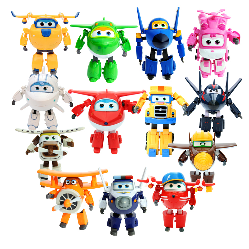 Super rice pan toy set full set of 8 installed large deformation robot Cool Ray Millie Luddy Iverson