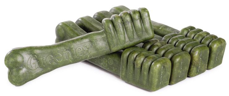 การทำความสะอาดฟันสุนัขของสีเขียวของอเมริกา Greenies แท่งกระดูกกรามเคี้ยว 65 แพ็คขนมถุงถูกส่งขจัดกลิ่นปาก