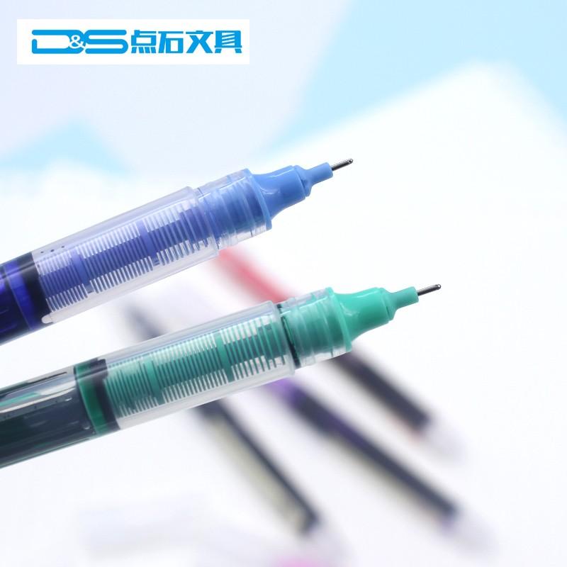 Die post dianshi schreibwaren studenten stift 0,5 mm Nadel Büro - transparente BAR Direkt - flüssigkeit - farb - kugelschreiber