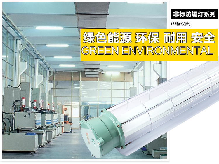 BCX6227 explosion proof fluorescent lamp LED sunlight NFE001 single and double tube emergency three proof energy-saving lamp
