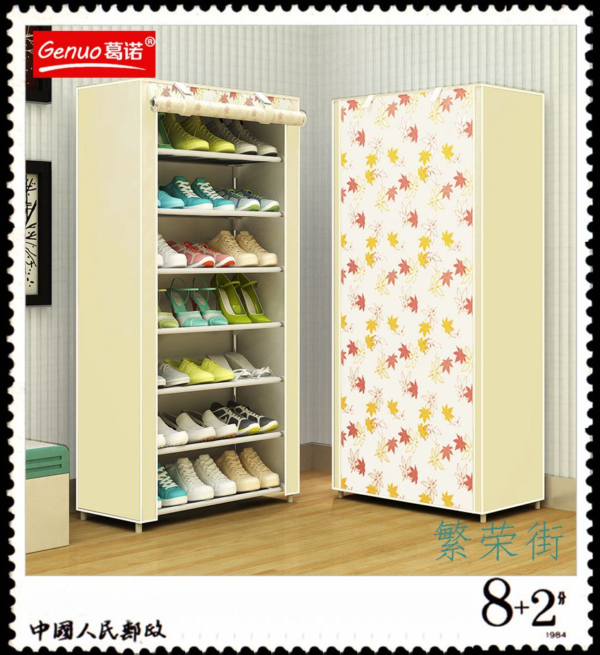 Simple student shoe multilayer assembly steel door shoe special offer small dormitory living room economy containing shoe